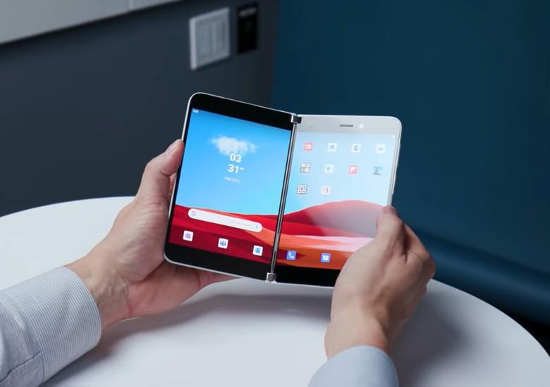 Microsoft Surface Duo: dispositivo vaza em novidade imagem com maiores detalhes de seu visual 1