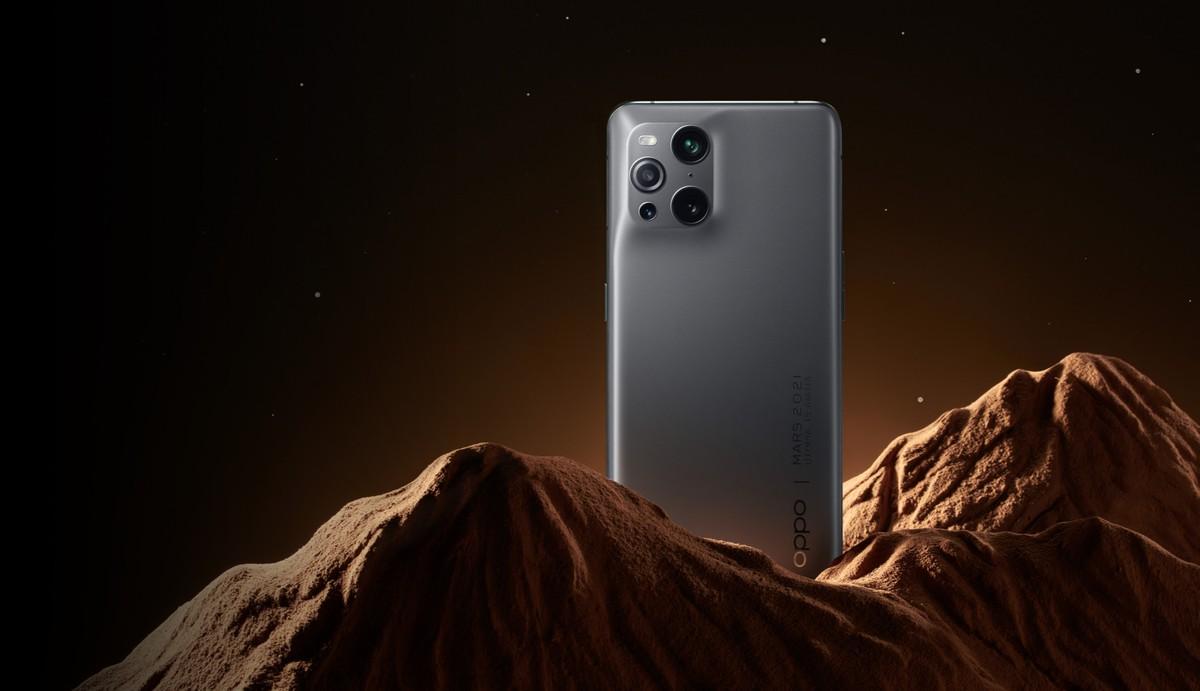 OPPO Find X3 Pro Mars Exploration Edition anunciado na China com filtros especiais e novidade cor 4